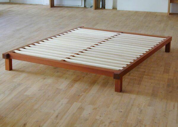 Holz Futonbett 1