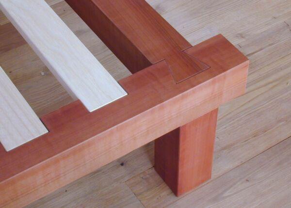 Holz Futonbett 2
