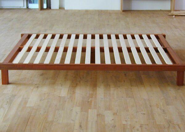 Holz Futonbett 3